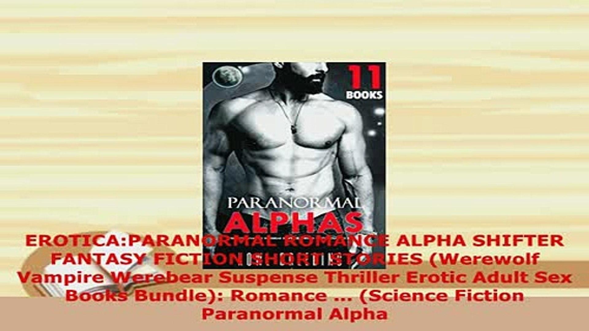 PDF EROTICAPARANORMAL ROMANCE ALPHA SHIFTER FANTASY FICTION SHORT STORIES  Werewolf Vampire Free Books