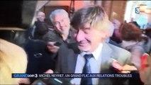Michel Neyret accueilli comme une star au tribunal