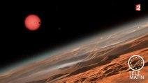 La découverte de trois exoplanètes «potentiellement habitables», en 42 secondes