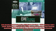 FAVORIT BOOK   CPA Ready Comprehensive CPA Exam Review  36th Edition 20072008 Auditing  Attestation  FREE BOOOK ONLINE