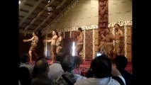 Hawaii Haka (war dance) at Polynesian cultural center