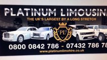 Platinum Rolls Royce Phantom hire, Rolls Royce Ghost hire, wedding car hire