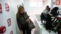 L'ARRIVEE DE LAMIA ZAIDI DANS LE MORNING DE MOMO SUR HIT RADIO - 23/01/14