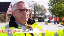 Reflecterend asfalt zorgt voor besparing op straatverlichting - RTV Noord