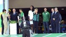 JO de Rio: la flamme olympique est arrivée au Brésil