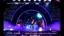 MIGUEL CONCHA (MICKEL JACKSON) Croatian Supertalent Semifinals - Michael Jackson impersonator