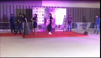 Shraddha Kapoor and Tiger Shroff Dancing togeher in Delhi - Baaghi Promotions