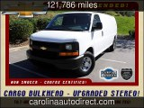 2012 Chevrolet Express Cargo Van Used Cars - Mooresville ,NC - 2015-10-22