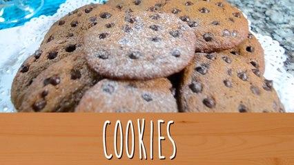 Cookies de Chocolate   Comamos Casero