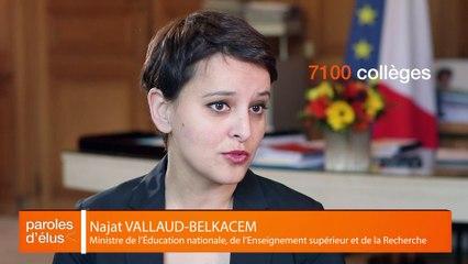 Dossier Education : Interview de Najat Vallaud-Belkacem, ministre de l'éducation nationale