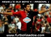 Newells 4 - Arsenal 1. Clausura Argentino 2008.