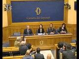 Roma - Unioni civili - Conferenza stampa di Maria Rosaria Carfagna (03.05.16)