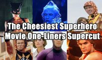 The Cheesiest Superhero Movie One-Liners Supercut