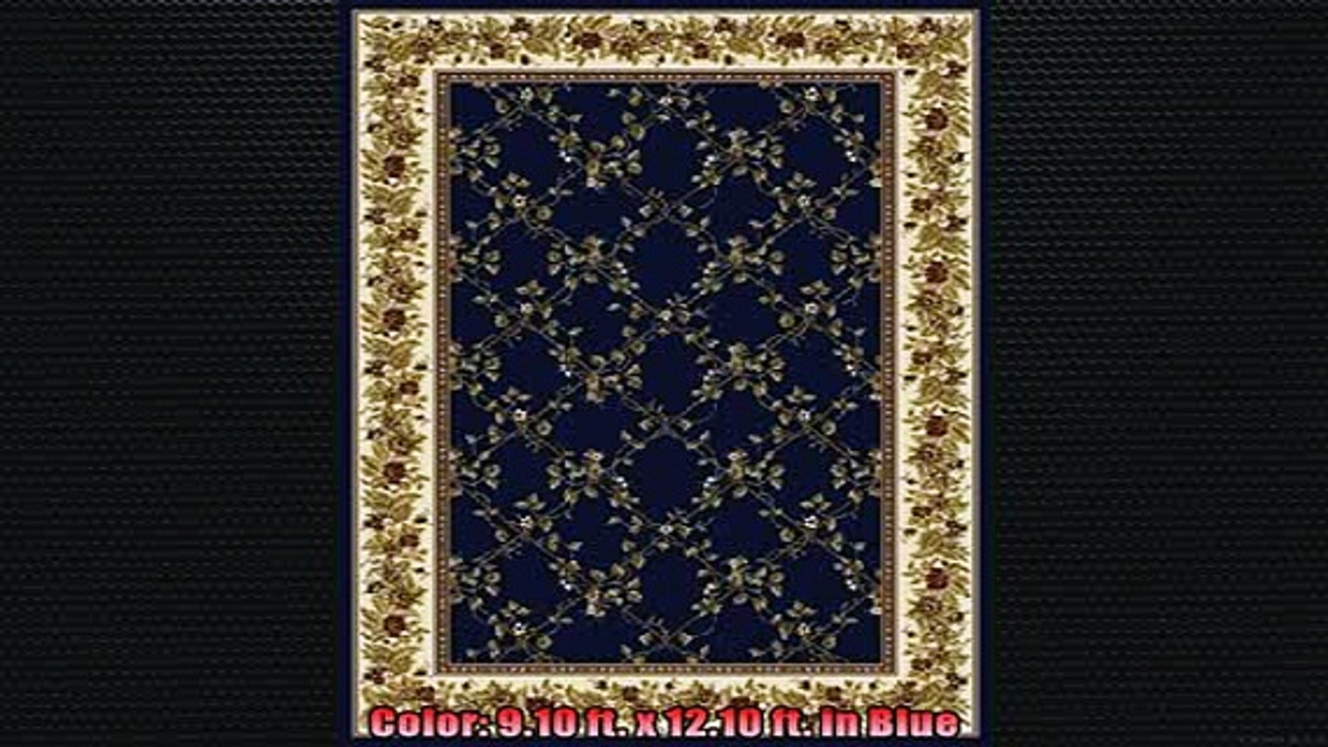 Most popular  Noble Rug 910 ft x 1210 ft in Blue