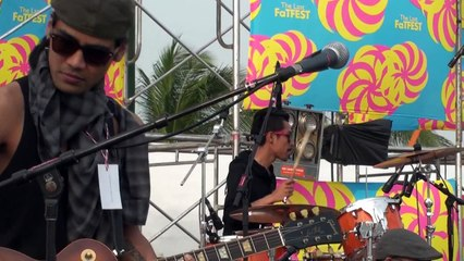 Coconut Sunday & BKing: Sound Check@The Last Fat Fest-Part 2 _ขาหัก