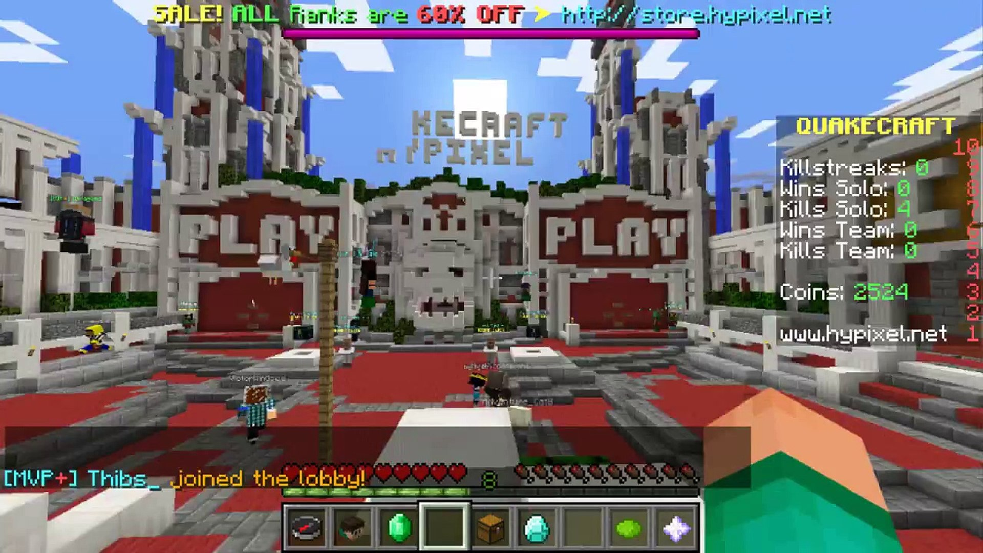 Minecraft | 10 COOLEST SECRETS IN THE HYPIXEL LOBBIES