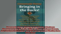 EBOOK ONLINE  Homemade Money Bringing in the Bucks A Business Management and Marketing Bible for  DOWNLOAD ONLINE