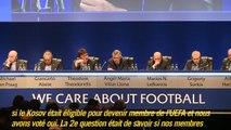 Congrès UEFA: le cas Platini examiné le 18 mai, entrée du Kosovo