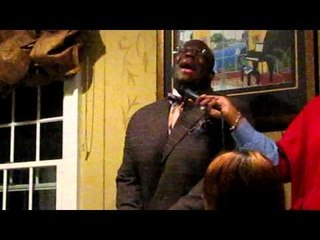 Zebulon at Gospel Industry Christmas Party