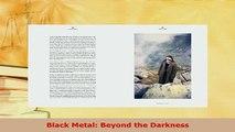 Download  Black Metal Beyond the Darkness PDF Book Free