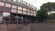 Aston Villa, Villa Park. A Fast Tour of Villa Park from the Car