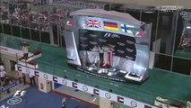 F1 Abu Dhabi GP Podium with Nico Rosberg, Lewis Hamilton & Kimi Raikkonen