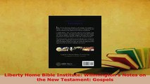 Download Liberty Home Bible Institute: Willmington's Notes