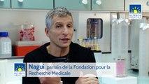 Nagui parrain de la Fondation pour la Recherche Médicale
