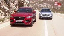 Comparativa en vídeo: Jaguar F-Pace contra Mercedes GLC