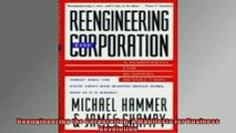 READ book  Reengineering the Corporation A Manifesto for Business Revolution  DOWNLOAD ONLINE
