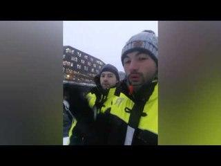 Norvège : il n'en croyait pas ses yeux !  (Snapchat)