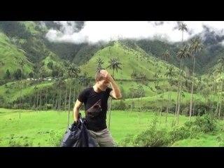 COLOMBIE : des PALMIERS en pleine MONTAGNE vallée de Cocora