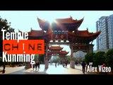 CHINE : visite du temple de KUNMING