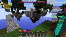 Minecraft(Guerra nas alturas)- Sendo um noob!!!(SkyWars)