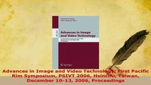 PDF  Advances in Image and Video Technology First Pacific Rim Symposium PSIVT 2006 Hsinchu Download Online