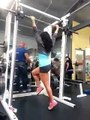 Strong Girl Doing Workout In Gym-Funny Videos-Whatsapp Videos-Prank Videos-Funny Vines-Viral Video-Funny Fails-Funny Compilations-Just For Laughs