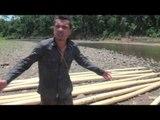 BOLIVIE : trek de SURVIE en AMAZONIE -13- construire un radeau