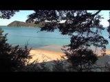 NOUVELLE ZÉLANDE : Camping au BORD de la MER à  Abel Tasman