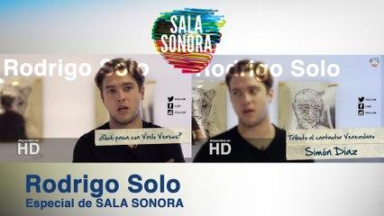 Rodrigo Solo (Sin su banda Viniloversus): Un disco para amar a tu tierra