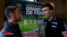Interview de Loris Baz, pilote Moto GP avant le GP de France