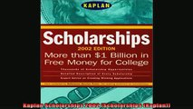 READ book  Kaplan Scholarships 2002 Scholarships Kaplan Full EBook