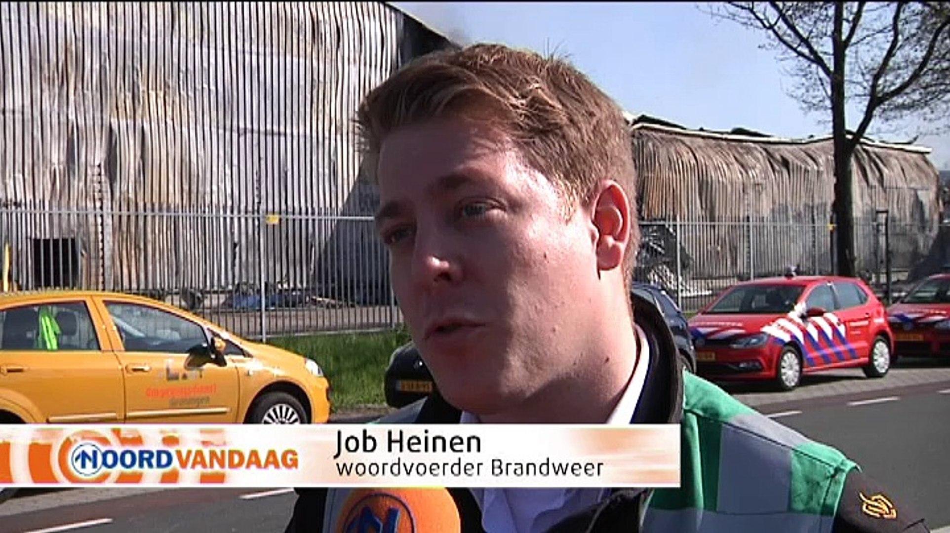 Ravage op industrieterrein in Scheemda is groot - RTV Noord