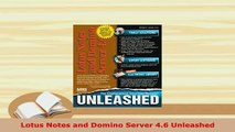 PDF  Lotus Notes and Domino Server 46 Unleashed  EBook