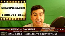 Cleveland Cavaliers vs. Atlanta Hawks Free Pick Prediction Game 2 NBA Pro Basketball Odds Preview