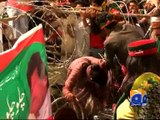 Indecent treatment of women in PTI Lahore Jalsa -04 May 2016