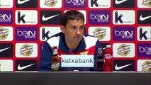 Rueda de prensa de Garitano tras el Bilbao Athletic (1-2) CD Leganés