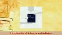 Download  Encyclopedia of Sciences and Religions Free Books