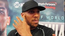 15 ANTHONY JOSHUA (UNCUT) ON DOMINIC BREAZEALE, GYPSY KING TYSON FURY, DILLIAN WHYTE & KHAN v CANELO