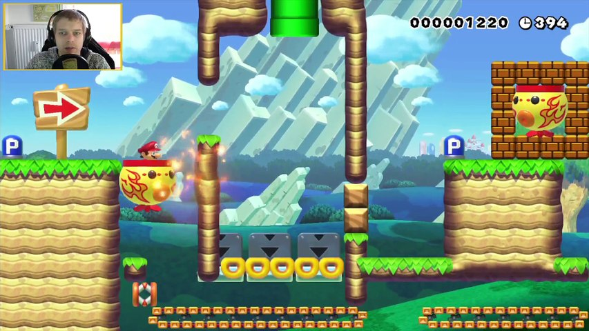 [GER] Super Mario Maker Community Level [YouTube-Recording/Aufnahme] (2)