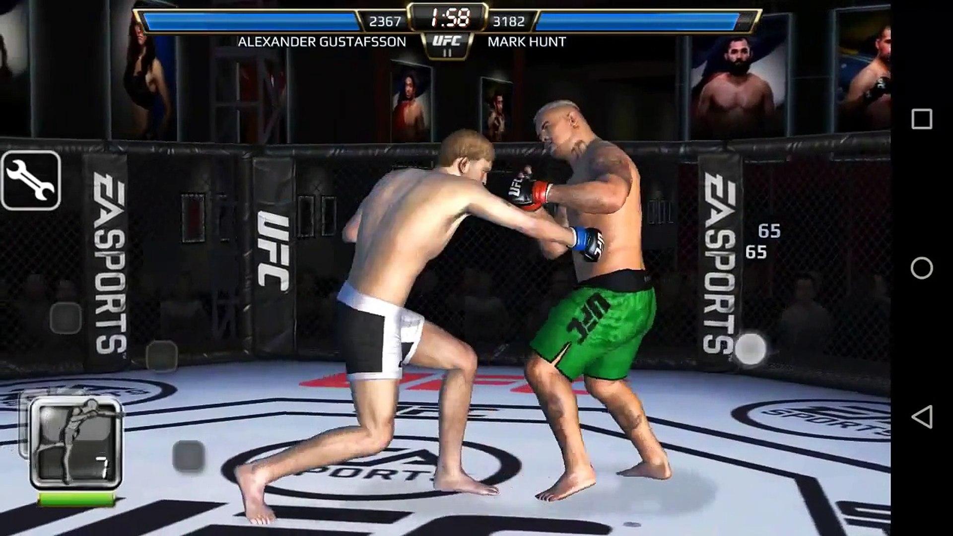 EA Sports UFC для iPhone.Взлом 100% HD